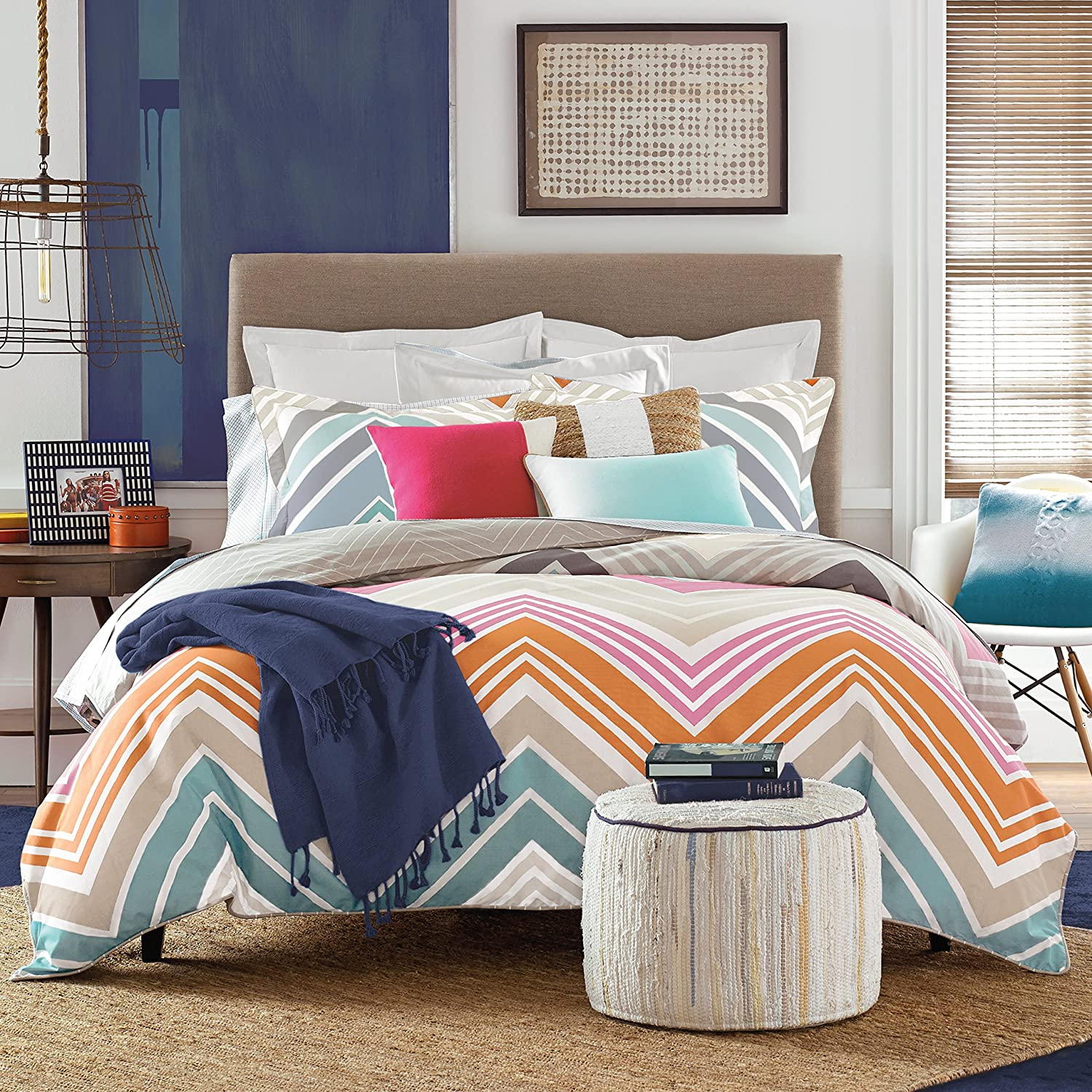 Tommy Hilfiger Midland Bed Set, Twin/Twin X-Large, Multicolor