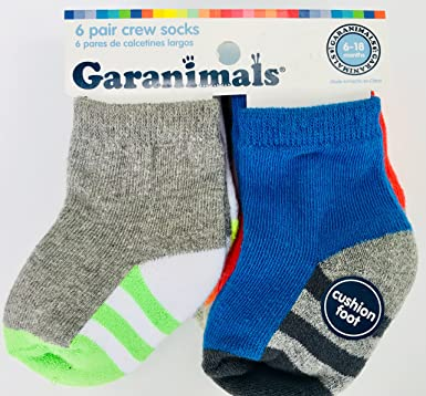 Garanimals Crew Socks (6 pair)