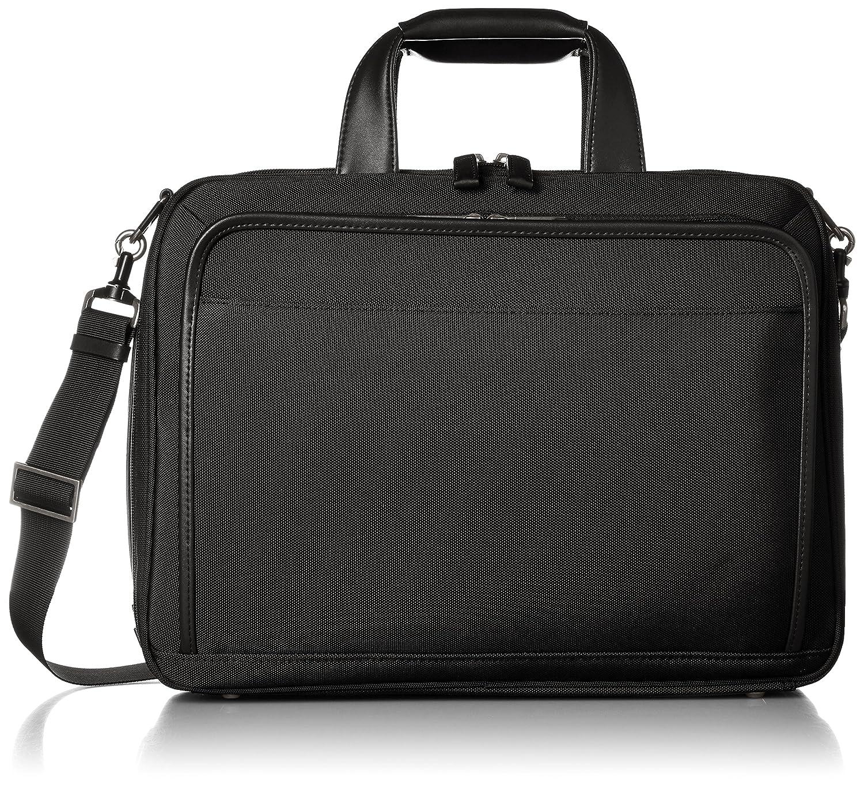 [エースジーン] ビジネスバッグ EVL3.0 40cm A4 1気室 PCタブレット収納 セットアップ B01N37VX8U ブラック