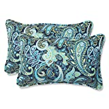 Pillow Perfect Outdoor Pretty Paisley Rectangular