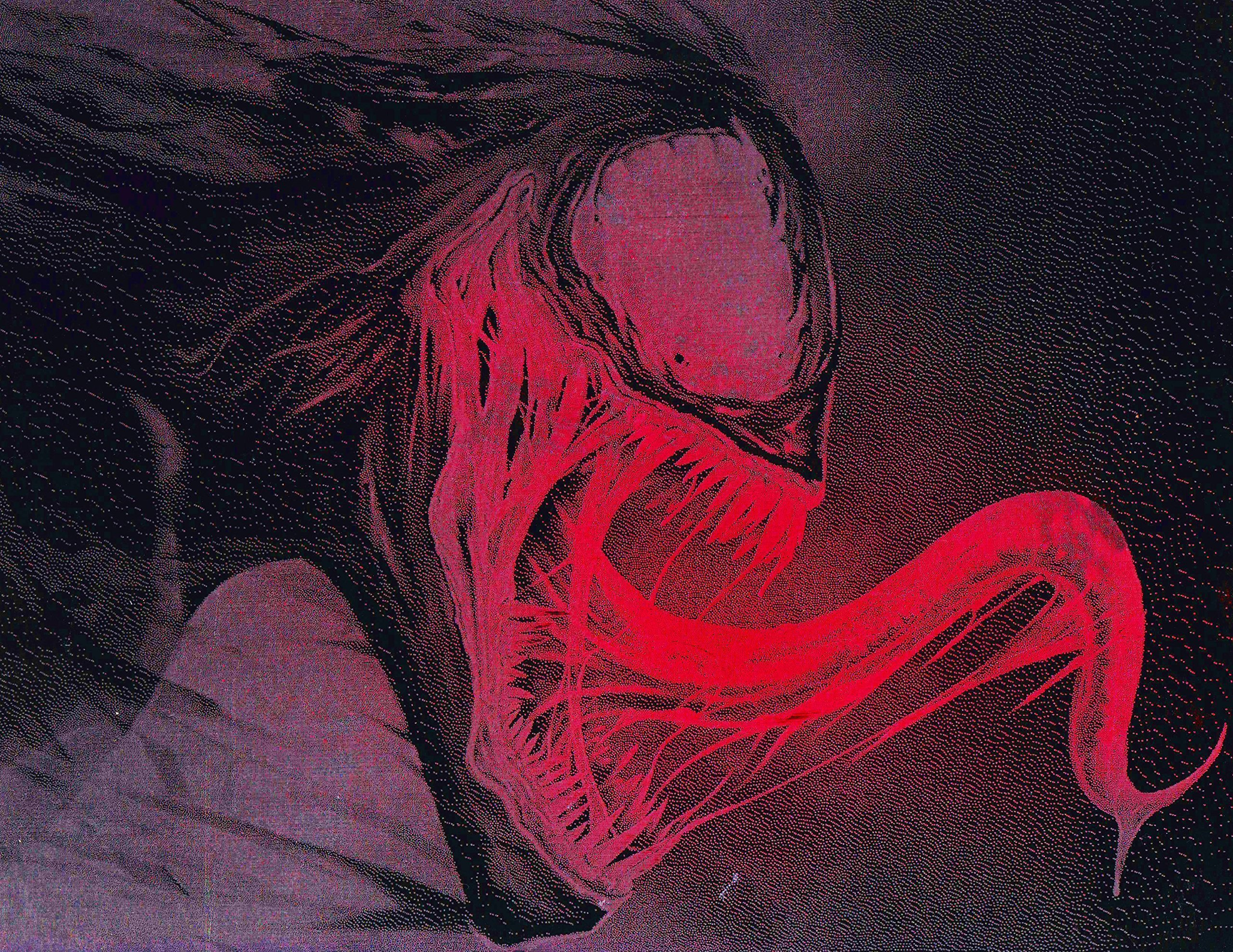 Venom Metal Poster Marvel Spray Paint Art by Art of Steel