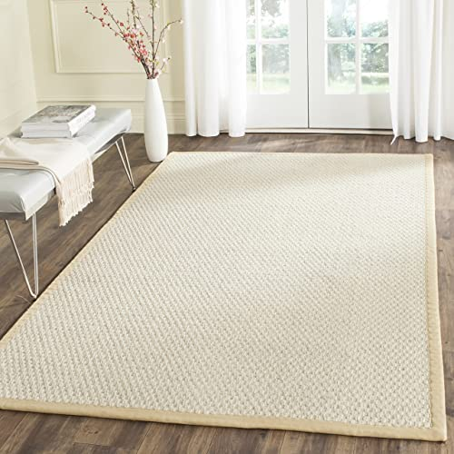 Safavieh Natural Fiber Collection Hand Woven Sisal Area Rug, 6 x 9 , Sand
