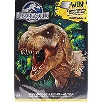 Jurassic World T Rex dinosauro Natale calendario dell' avvento cioccolata
