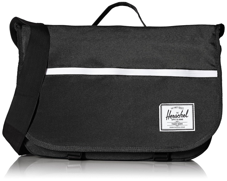Amazon.com | Herschel Supply Co. Pop Quiz Messenger, Black, One Size |  Messenger Bags