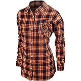 NFL Football 2015 Womens Wordmark Basic Flannel Shirt - Pick Team