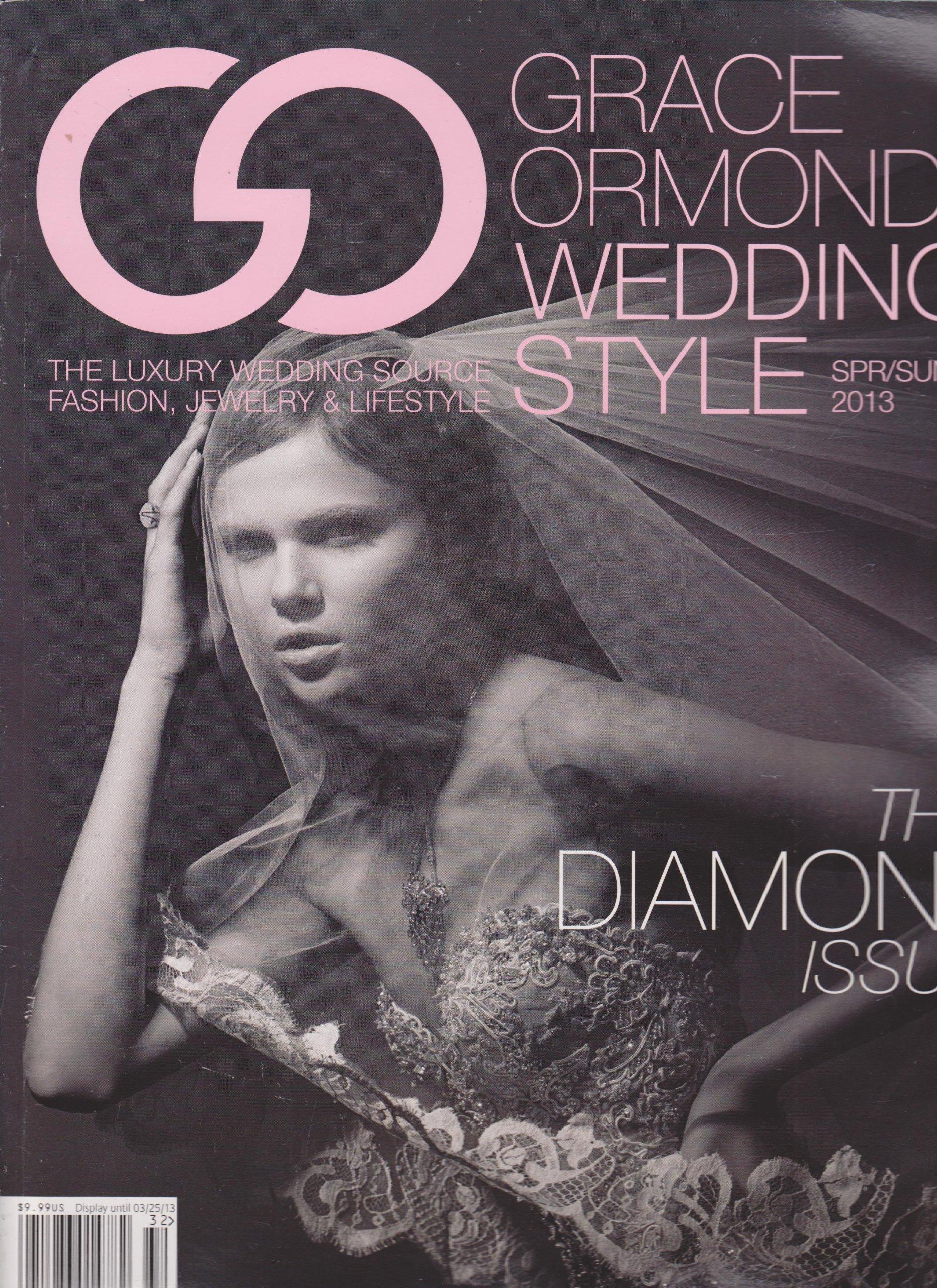 Download Grace Ormonde Wedding Style Magazine Spring/Summer 2013 (The Diamond Issue) pdf epub