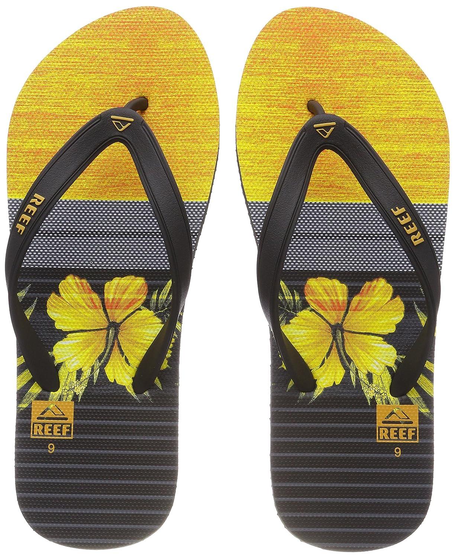 Reef Herren Switchfoot Prin Black/Yellow Zehentrenner