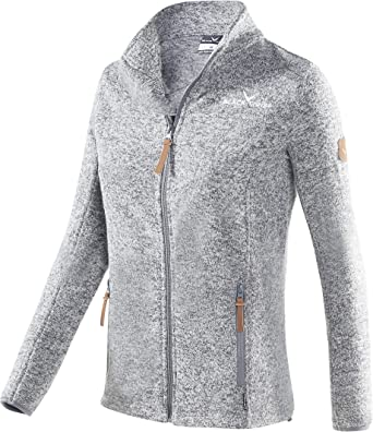 fleece blazer damen grau 44