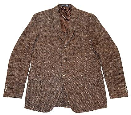 Amazon.com: Polo Ralph Lauren Mens lana virgen Blazer ...