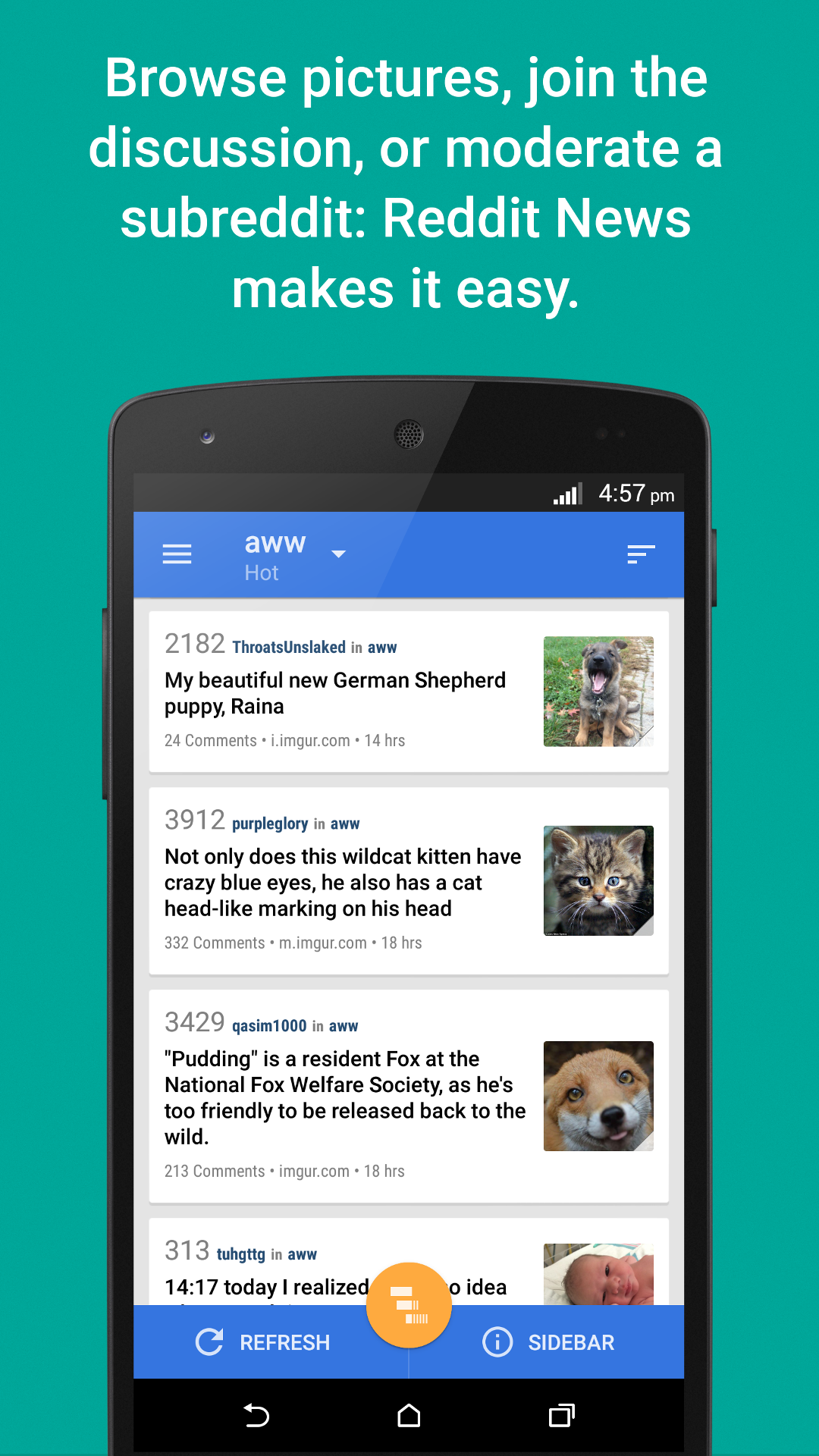 Amazon Com Relay For Reddit Pro Appstore For Android