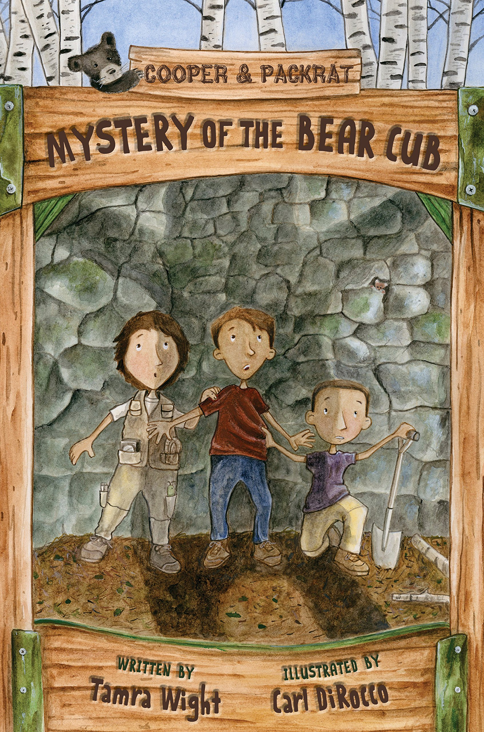 Download Mystery of the Bear Cub (Cooper and Packrat) pdf