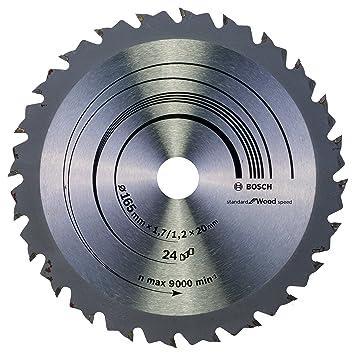 Bosch 2608644024 Kreissägeblatt Expert for Wood 48 165 x 20 x 2,6 mm