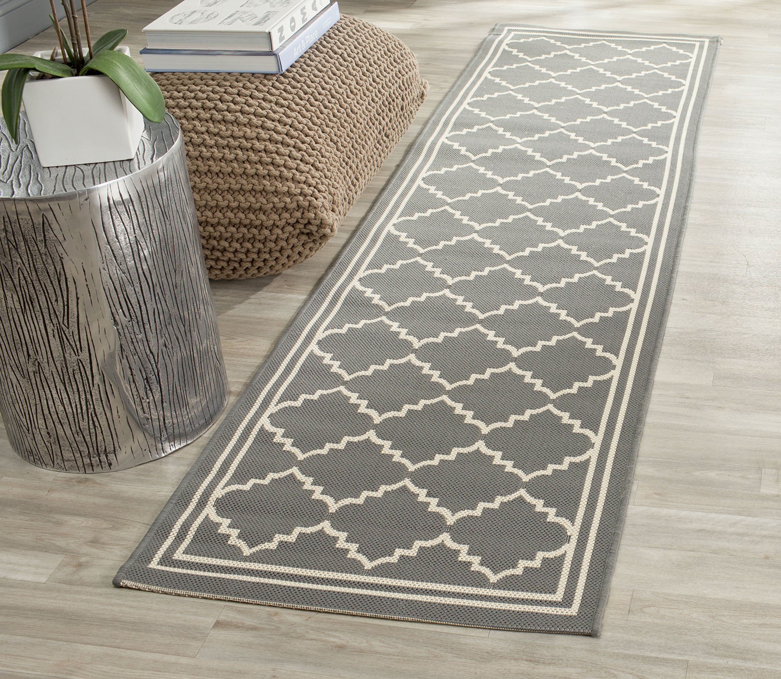 Safavieh Courtyard Collection CY6889-246 Grey and