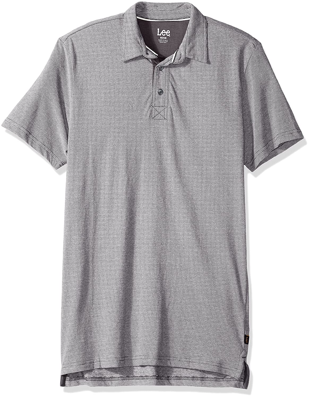 LEE Mens Short Sleeve Super Soft Polo