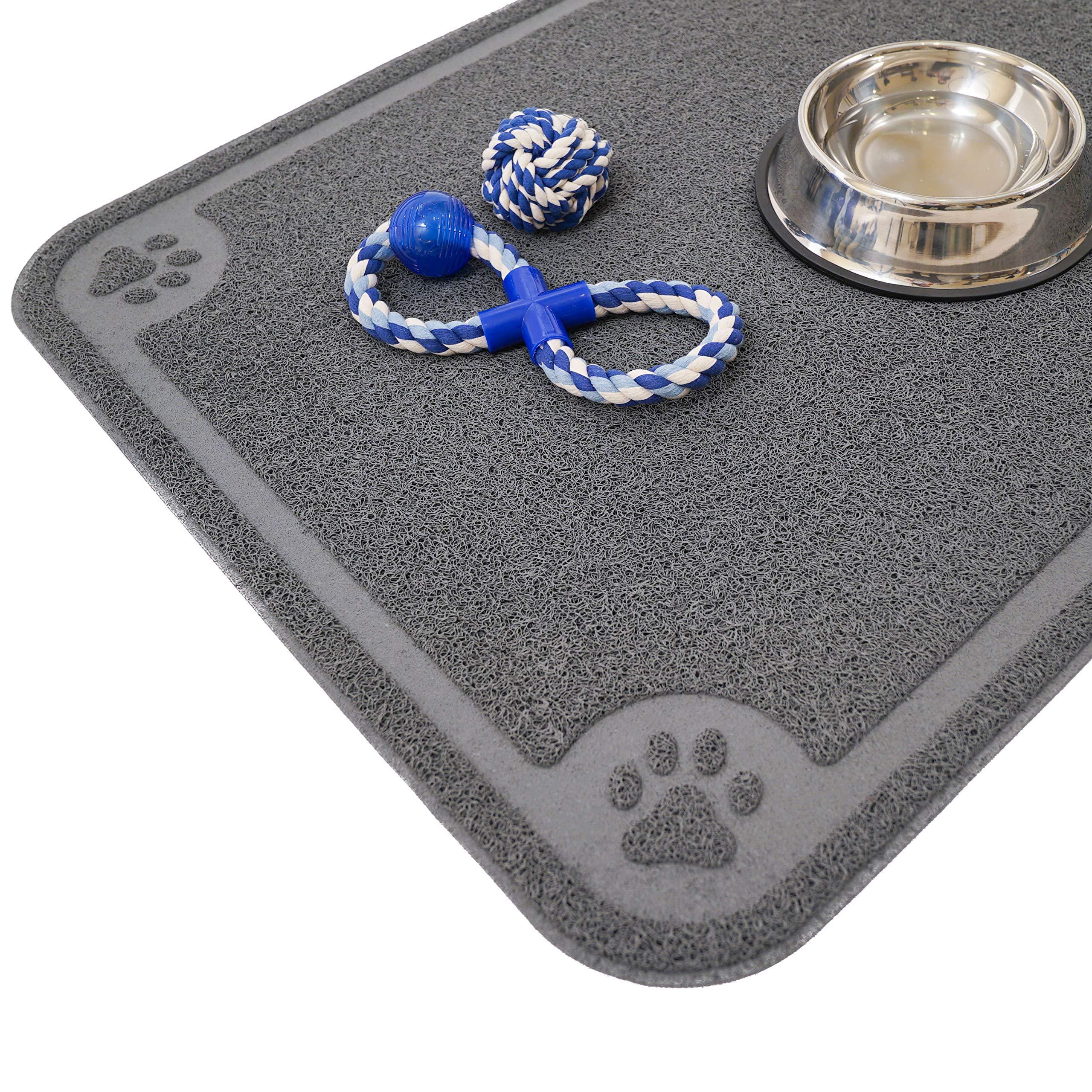 Cavalier Pets Pet Feeding Mat Grey, XXL