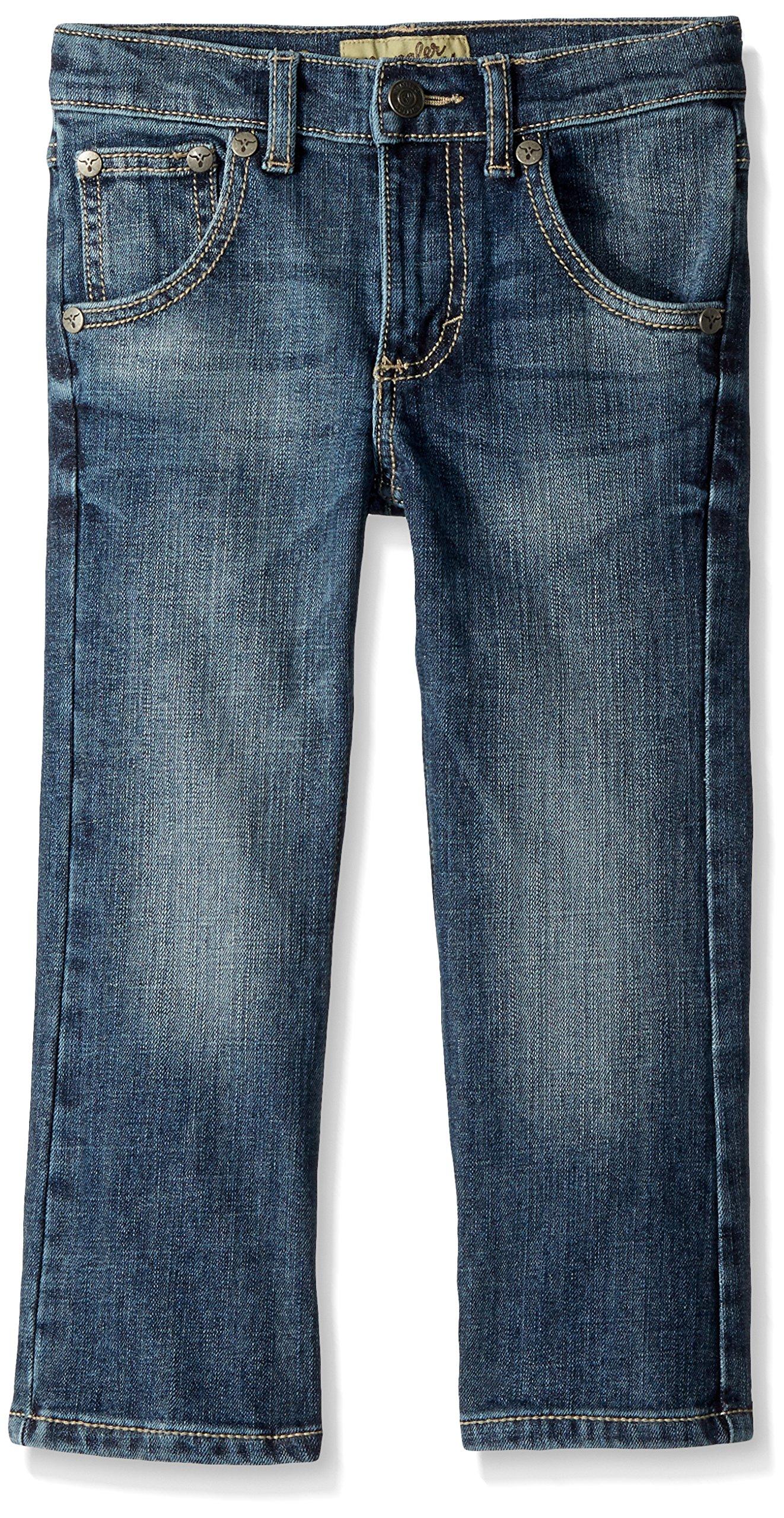 Wrangler Boys' Big 20X Vintage Boot Cut Jean, san Antonio, 14 SLM