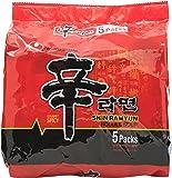NONG SHIM Spicy Mushroom Shin Ramyun, 5 x 120g