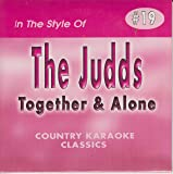 JUDDS & WYNONNA Country Karaoke Classics CDG Music CD