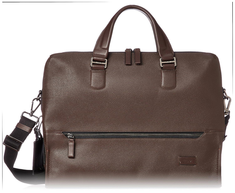 [トゥミ] ビジネスバッグ 公式 正規品 HARRISON 「ホートン」ダブルジップブリーフ 063002 B078Y5WZSMブラウン