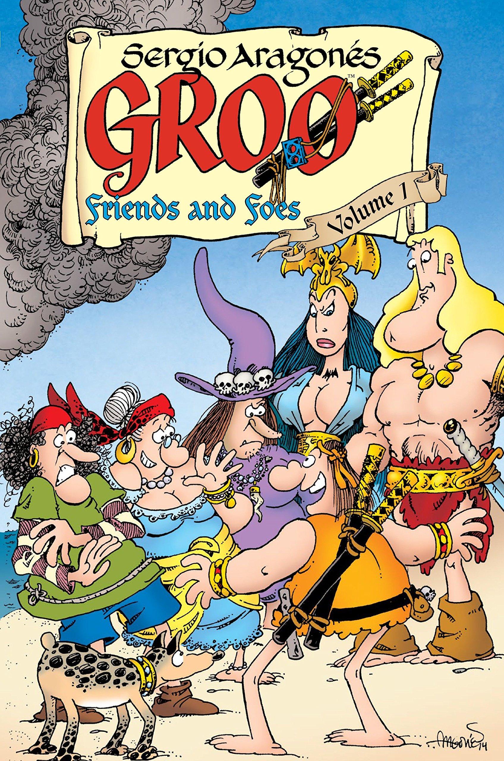 The Groo Chronicles No.5 1989 Mark Evanier /& Sergio Aragones