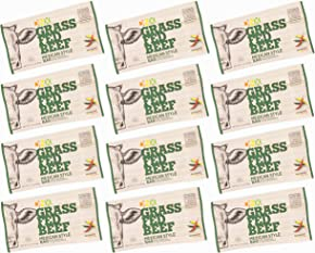 DNX Bar-Grass Fed Beef Whole Food Protein Bar-Mexican Style Whole30 Approved Organic Fruits and Veggies, Gluten Free, Non-GMO, No Dairy, Paleo Meat Bar. Truly Epic Taste (12 Bars)