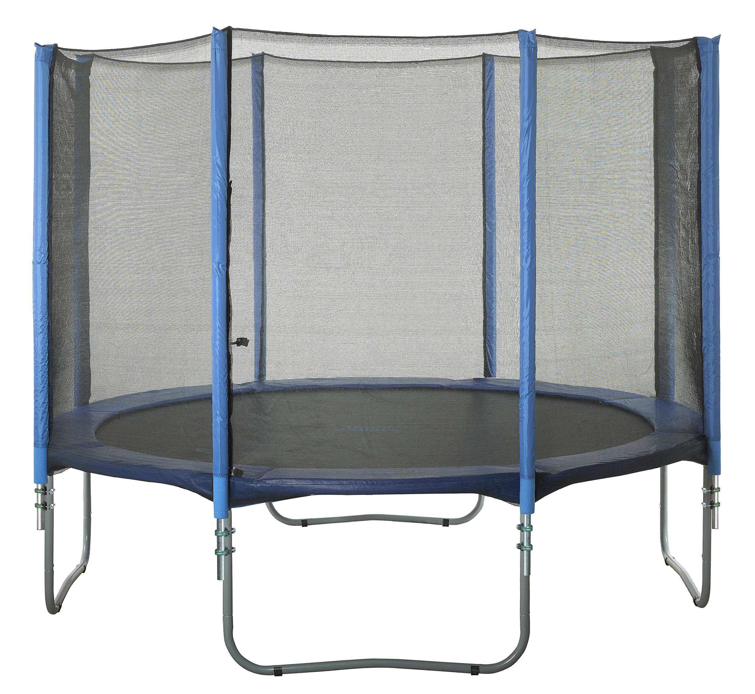Upper Bounce 8 Pole Trampoline Enclosure Set to fit 15 FT. Trampoline Frames with Set of 4 or 8 W-Shaped Legs (Trampoline Not Included) by Upper Bounce (Image #7)