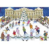 Alison Gardiner 'Christmas Ice Skating' Large Traditional Advent Calendar