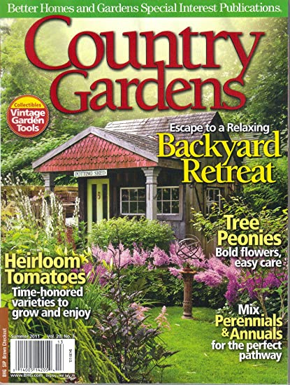 Amazon Com Country Gardens Magazine Summer 2011 Other Products