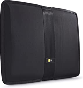 Case Logic Protective Sleeve for 13.3-Inch MacBook Air and 14-Inch Ultrabook - Black (QUS-214Black)