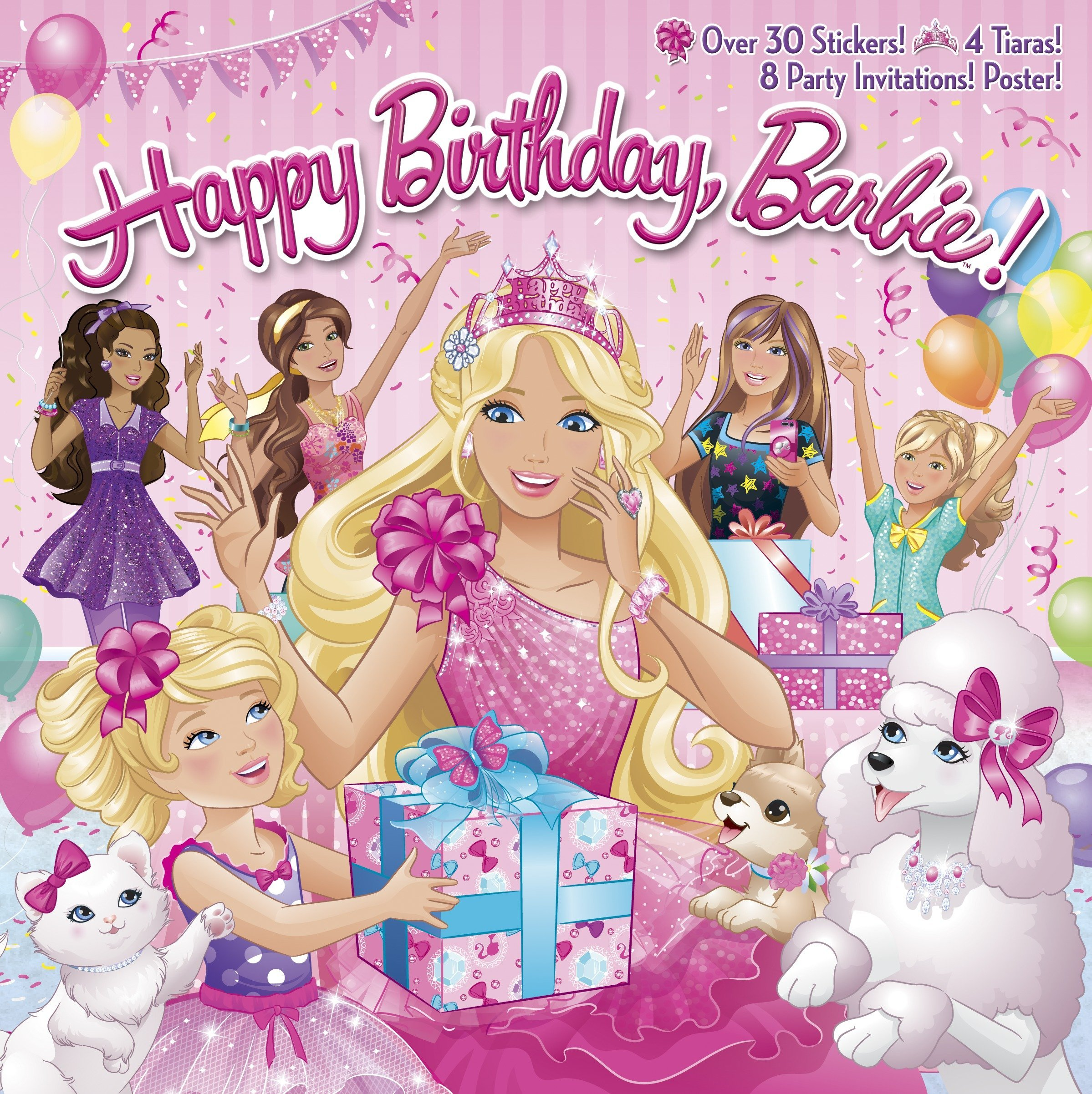 Happy Birthday Barbie PicturebackR Paperback January 7 2014