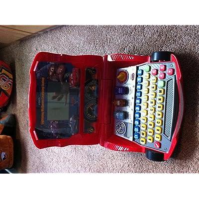 VTech Cars Lightning McQueen Learning Laptop: Toys & Games
