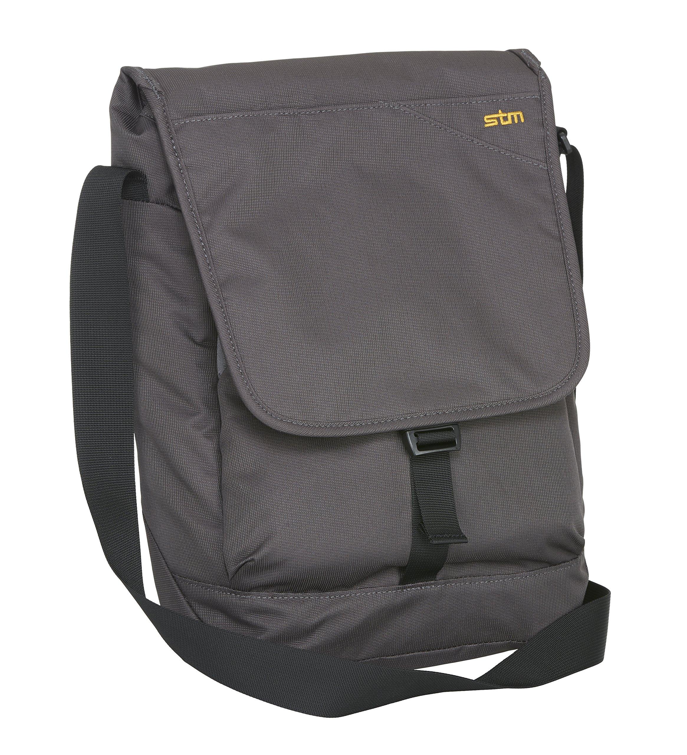 STM Linear Shoulder Bag for 13'' Laptop & Tablet - Steel (stm-112-116M-56)