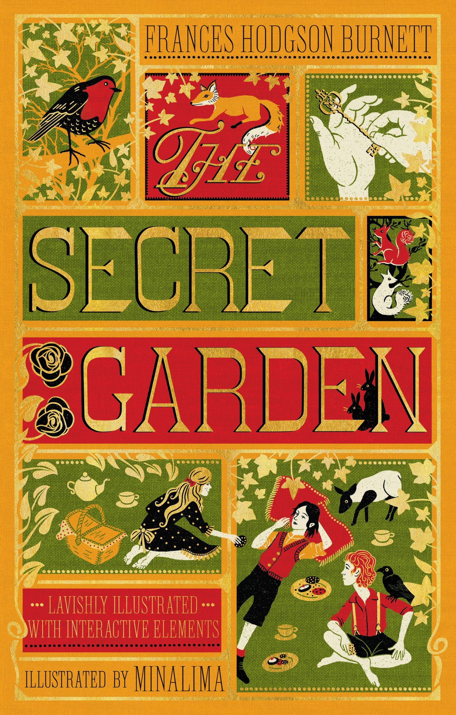 The Secret Garden (Illustrated with Interactive Elements)
