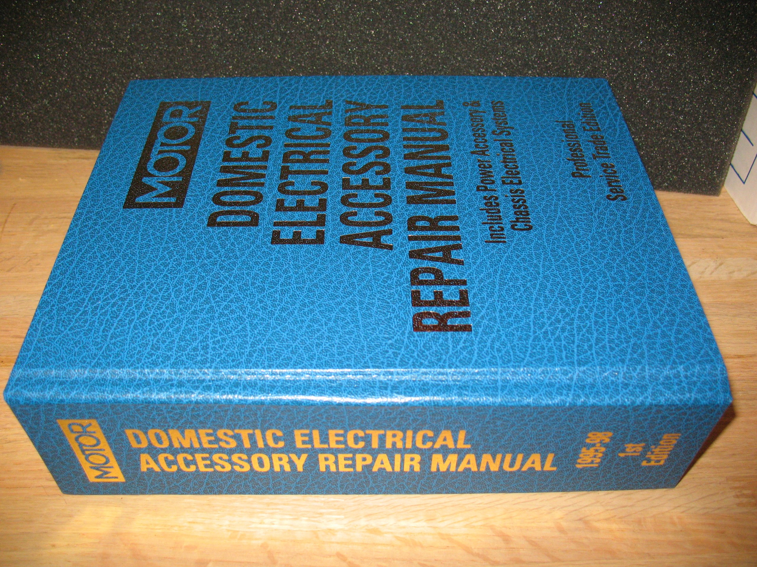 Domestic Electrical Accessory Manual