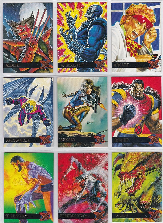 X Men Fleer Ultra 1995 Complete 150 Card Trading Card Set