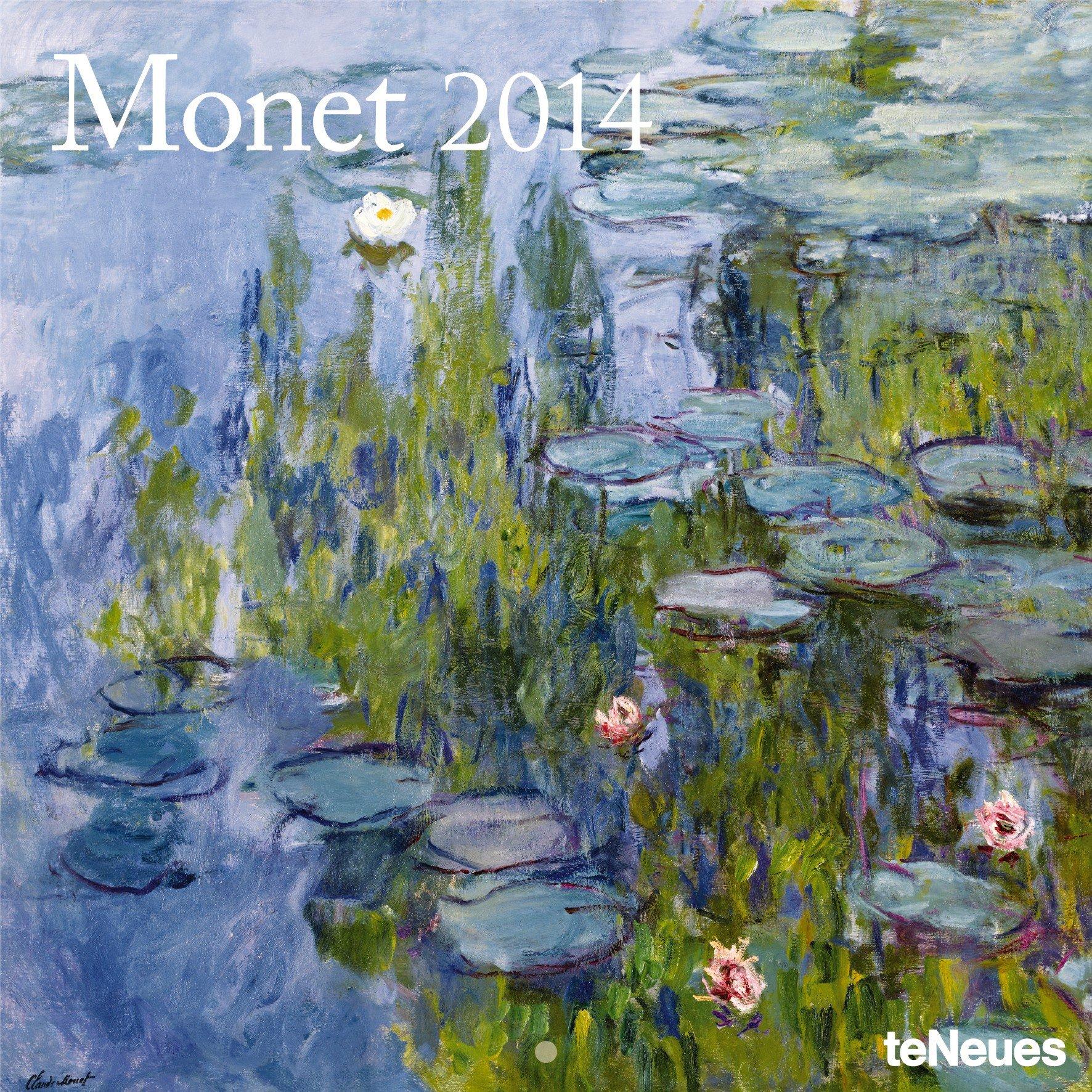 Monet 2014 Broschürenkalender
