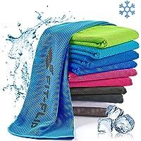 Verkoelende handdoek perfect als microvezel sporthanddoek of koeldoek - cooling towel voor fitness, sport, reizen, yoga…