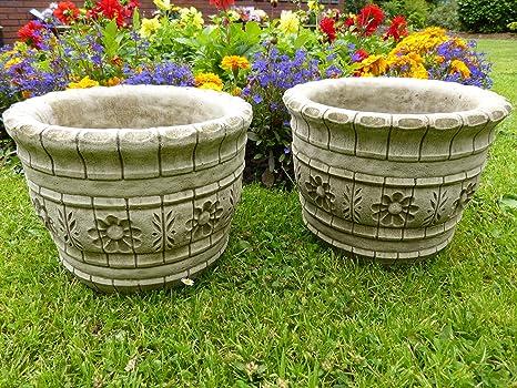 Decorazione Vasi Da Giardino : Coppia di westland vasi vasi decorazione da giardino in pietra