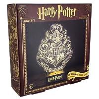 Harry Potter - Lampada da tavolo stemmi case di Hogwarts con base, funzionamento tramite USB o batteria 25,2 x 18,7 x 8 cm