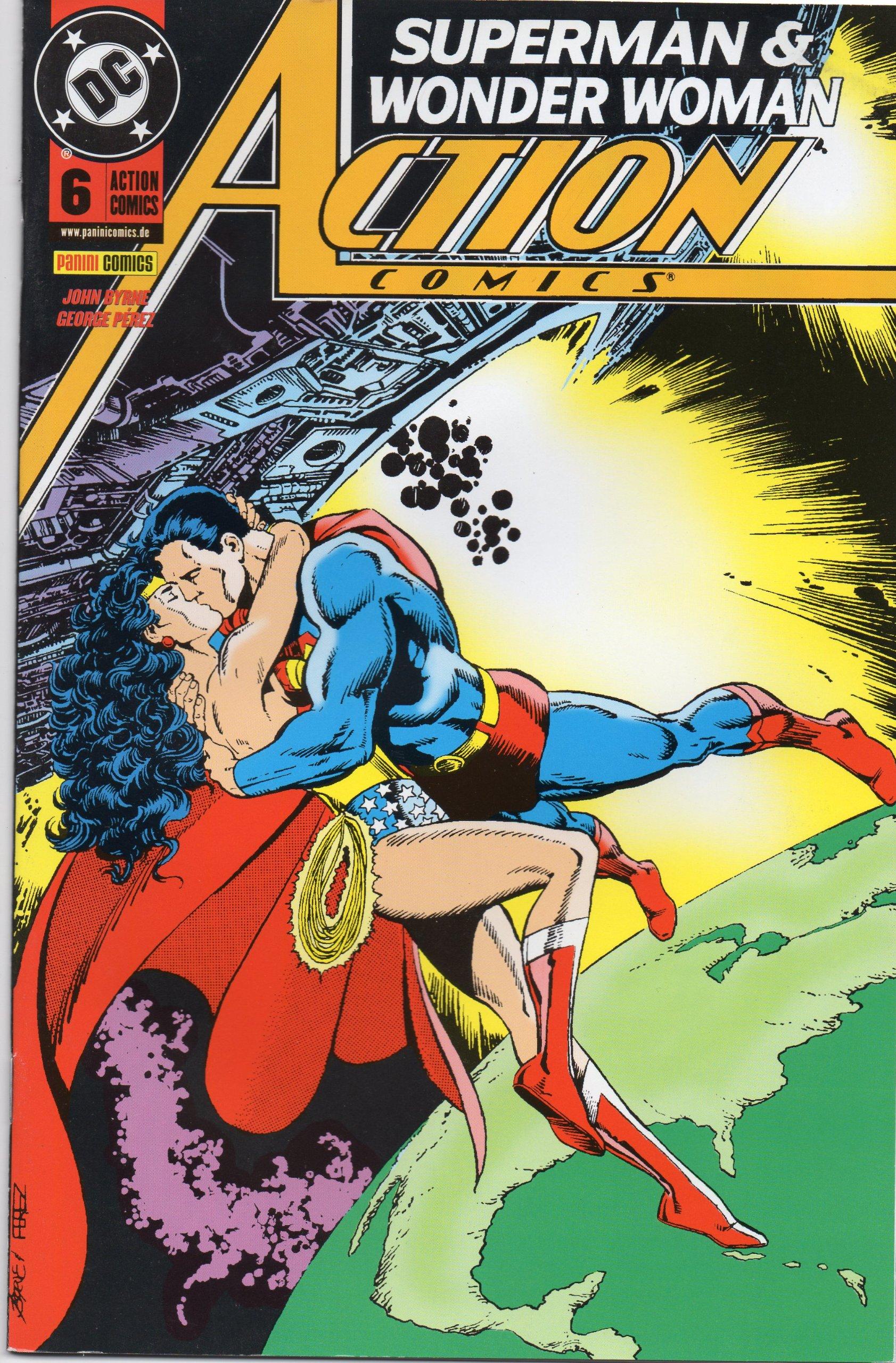 Action Comics #6 - Superman & Wonder Woman (2002, Panini) Comic – 2002 John Byrne Panini Verlag B008A59E04 Belletristik - Comic