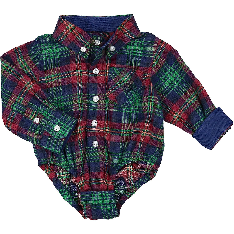 f2e3f41b5 Andy   Evan Baby Boys  White Oxford Shirtzie  5WefJ0200448  -  28.99
