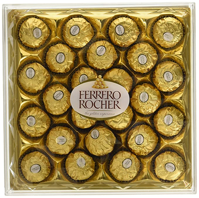FERRERO ROCHER SQUARE BOX 24 PCS