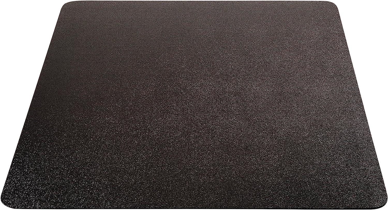Amazon Com Deflecto Economat Black Chair Mat Low Pile Carpet Use Rectangle Straight Edge 46 X 60 Office Products