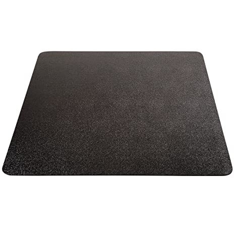 ab96489028a Image Unavailable. Image not available for. Color  Deflecto EconoMat Black  Chair Mat ...