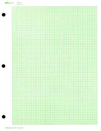 Amazon.com : National Brand Engineer Filler Paper, 10 sq/cm Quad ...