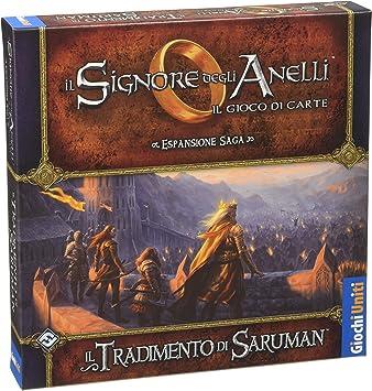 Giochi Uniti - El Señor de los Anillos La traición de Saruman: aa.vv.: Amazon.es: Juguetes y juegos
