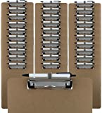 Trade Quest Clipboards Pen Holder Clip Letter Size (30 - Pack) (Pen Included)