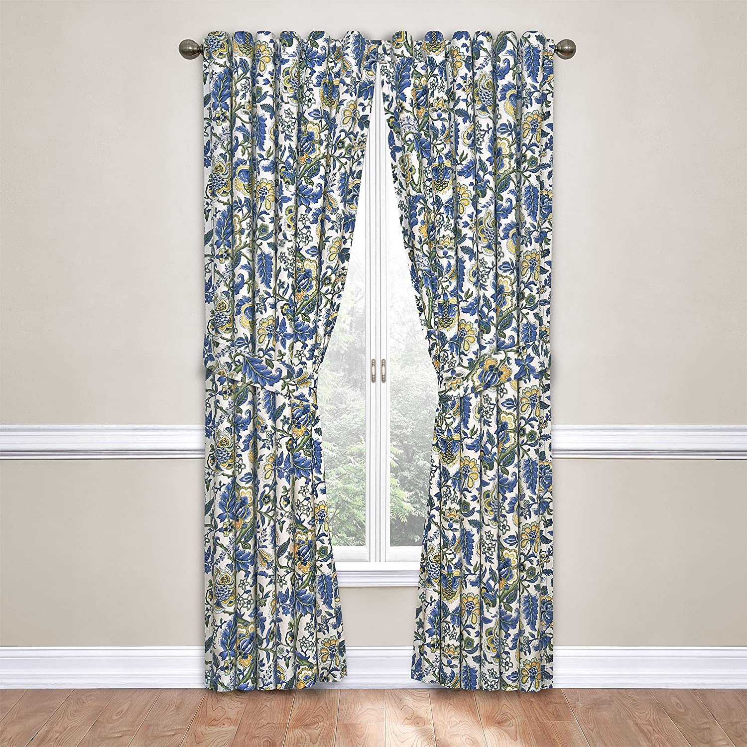 WAVERLY Imperial Dress Window Curtain 84x52 Porcelain