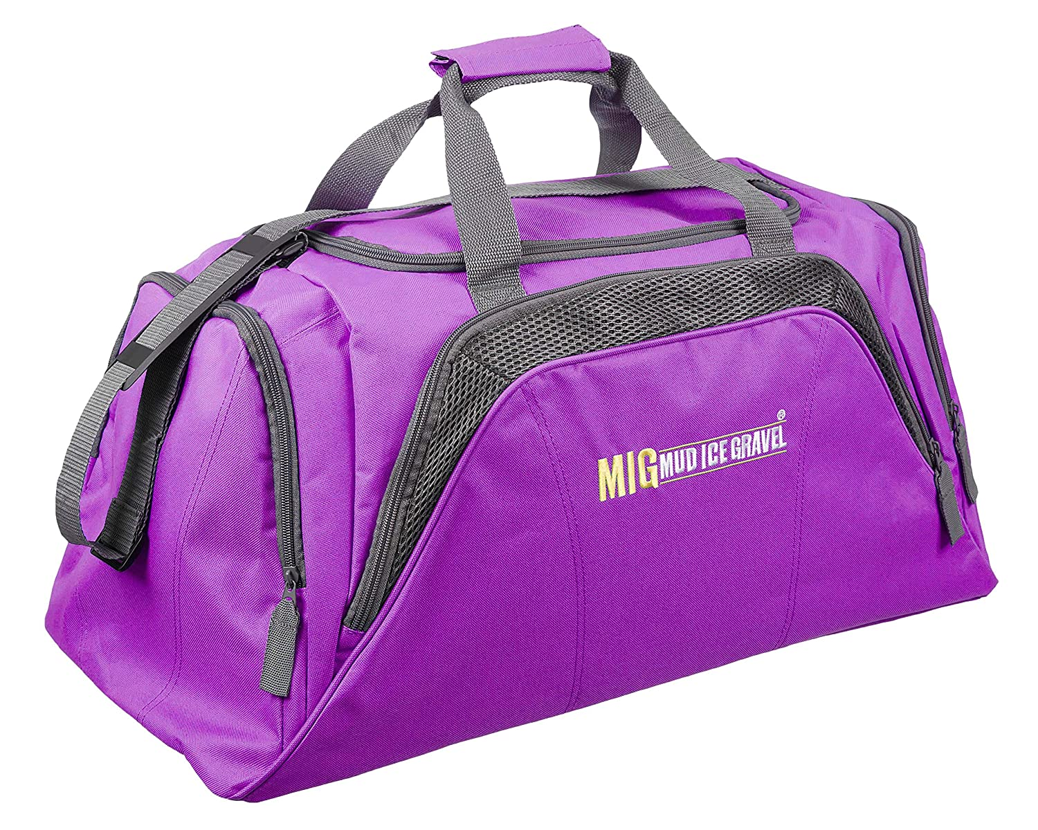 3474e80e7bcd Ladies Large Purple Holdall Sports Bag - Sports Travel School Work   Amazon.co.uk  Luggage