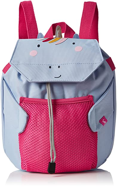 c9c3394501 Joules Girls Buddie Backpack Blue (Unicorn)  Amazon.co.uk  Shoes   Bags